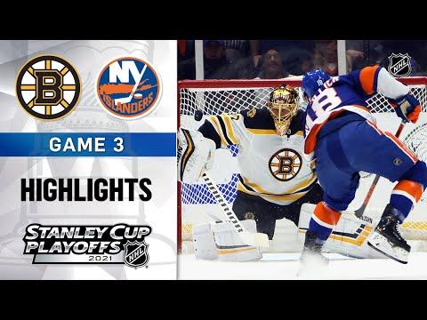 Second Round, Gm3: Bruins @ Islanders 6/3/21 | NHL Highlights