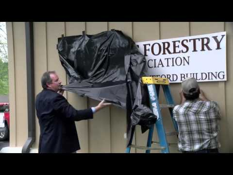 Texas Forestry Association New Building Ribbon Cutting