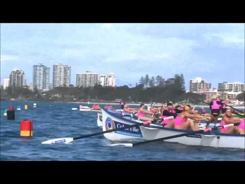 Open Mens Surf Boat Final - Australian Titles 2013