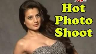 Ameesha Patel's hot & steamy photo shoot