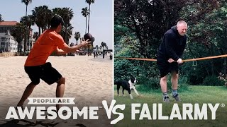 Slackline Skilled Or Pained? And More Wins Vs. Fails | PAA Vs. FailArmy