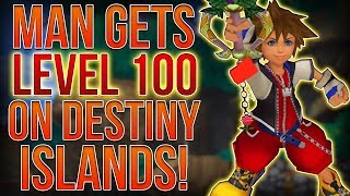 MAN GETS LEVEL 100 ON DESTINY ISLANDS IN KINGDOM HEARTS 1!?