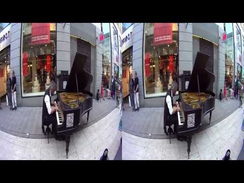 BeMe Cam: Julian Layn plays solo piano (3D + Binaural)