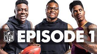 A.J. Brown, Greedy Williams, & Rashan Gary's NFL Draft Journey Begins | Destination Nashville