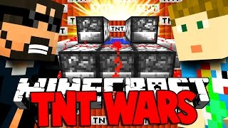 Minecraft: CHRISTMAS TNT WARS - AUTOMATIC TNT CANNON OF DEATH [1]