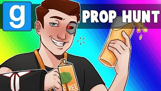Gmod Prop Hunt Funny Moments - Covering E-TREE 2018 Games Convention!
