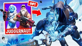 *NEW* INFINITY BLADE JUGGERNAUT Custom Gamemode in Fortnite Battle Royale!