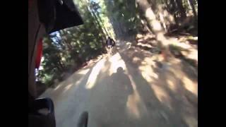 Impresionante descenso de velocidad