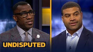 Shawne Merriman reacts to Dez Bryant potentially signing with Browns | NFL | UNDISPUTED