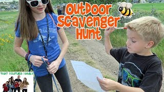 Outdoor Scavenger Hunt / That YouTub3 Family