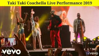 Taki Taki Coachella Live 2019 - DJ Snake ft Selena Gomez, Ozuna, Cardi B | Live Performance