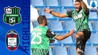 Sassuolo 4-1 Crotone   Sassuolo Go Top After Caputo Brace Claims 3 Points!   Serie A TIM