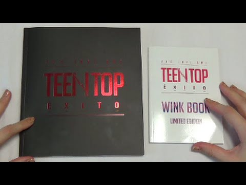 Unboxing Teen Top 틴탑 5th Korean Mini Album 20's LOVE ONE TEEN TOP ÉXITO