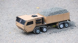 How to make a powerful battery truck