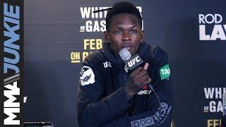 UFC 234: Israel Adesanya full post-fight interview
