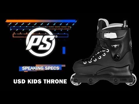 Video USD Roller Street CLASSIC THRONE KIDS Noir
