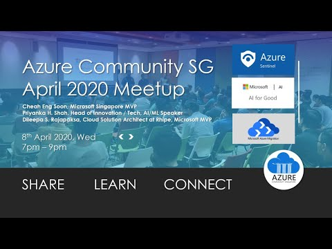 [April 2020 Meetup] Azure Sentinel, AI for Better