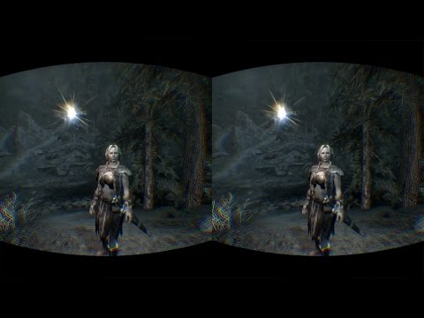 MODDED SKYRIM VR EP2 AWESOME OCULUS RIFT DK2 VIREO PERCEPTION 2.1