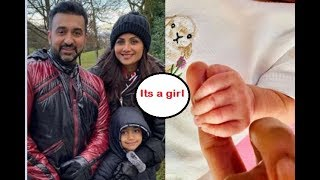 Shilpa Shetty and Raj Kundra welcome their second child..