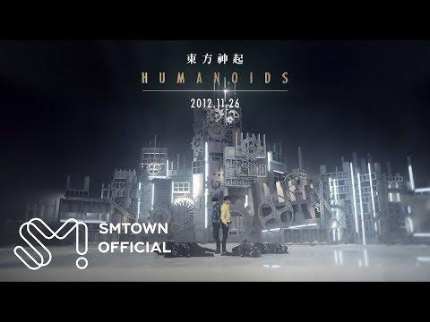 TVXQ! 동방신기 'Humanoids' MV Teaser