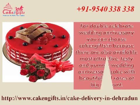 Online cake delivery services in dehradun via CakenGifts.in