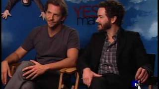 Bradley Cooper and Danny Masterson Interview for YES MAN