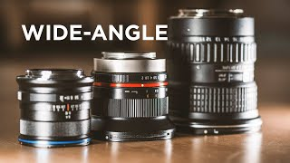 3 affordable wide-angle lenses