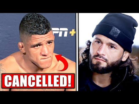 Reactions to Gilbert Burns vs Usman CANCELLATION, Jorge Masvidal, UFC Fighters fly to Fight Island