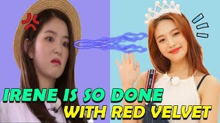 When Irene Is So Done With Red Velvet