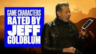 Jeff Goldblum Rates Video Game Characters - Jeff Goldblum Jurassic World Evolution Interview