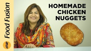 Homemade Chicken Nuggets Recipe  By Food Fusion Detailed