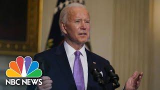 Watch Biden's First Full Press Conference   NBC News