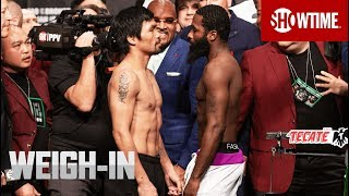 Pacquiao vs. Broner: Weigh-In | SHOWTIME PPV