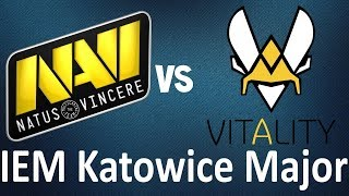 NaVi vs Vitality | Best Moments | Highlights | Mirage | IEM Katowice Major 2019