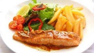 Cá Hồi Nướng Sốt Bơ Tỏi Ngon Lạ