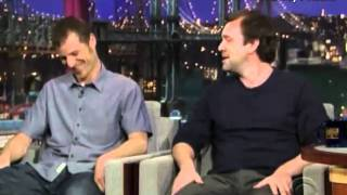 Book of Mormon's Trey Parker & Matt Stone on Dave Letterman's The Late Show (03.01.11)