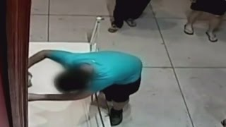 Boy accidentally punches hole in $1.5m painting