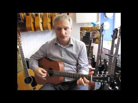 Guitar Review : Baby Taylor mahogany top BT2