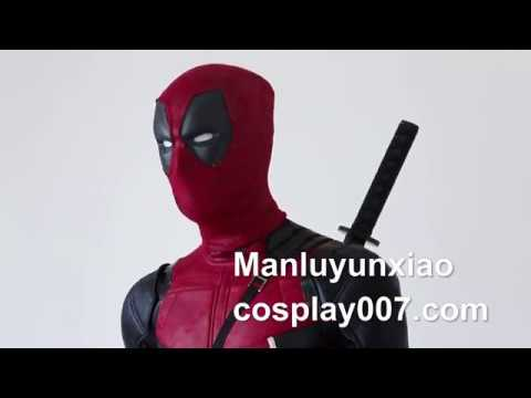 Deadpool 2 Wade Wilson cosplay costume detail overview