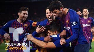 Barcelona prepara la celebración del título de Liga | Telemundo Deportes