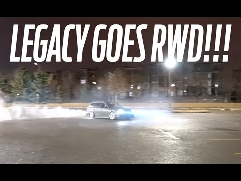 Subaru Legacy RWD Conversion (DONUTS)