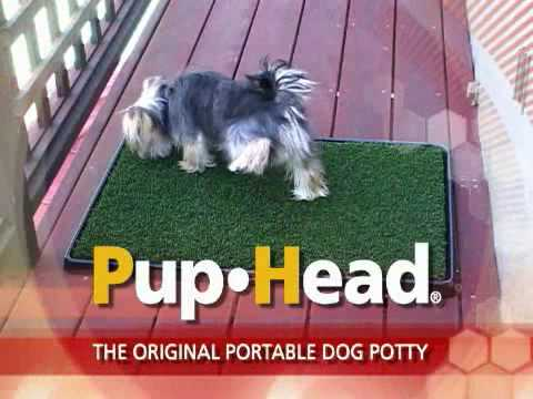 Pup-Head™ Original Portable Dog Potty