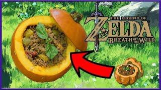 Cuccos Kitchen | How To Make Tough Meat Stuffed Pumpkin  | Legend of Zelda: Breath Of The Wild