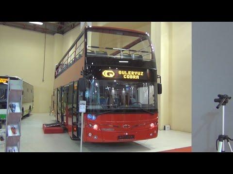 Güleryüz Cobra Double Decker Sport Bus (2016) Exterior and Interior in 3D