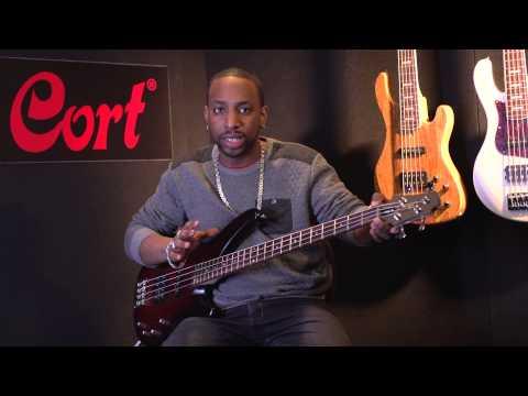 Cort Arona 4 bass guitar demo