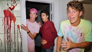24 HOUR OVERNIGHT CHALLENGE IN ABANDONED HOUSE!