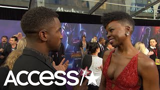Danai Gurira Shares Excitement Over 'Avengers: Infinity War'; Talks 'Black Panther 2' | Access