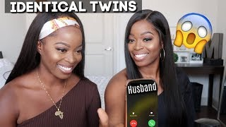 IDENTICAL TWINS | Transforming my Twin Sister| Can Our HUSBAND'S tell us apart?😱