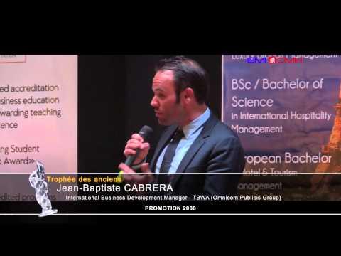 Alumni Excellence Awards - Jean-Baptiste CABRERA
