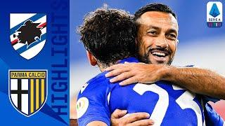 Sampdoria 3-0 Parma | Quagliarella Opens The Scoring As Sampdoria Hit 3! | Serie A TIM